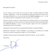 Comunicat als mutualistes: absorció de Virgen de Fuensanta de Sabadell m.p.s.