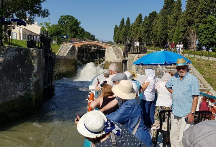 Los participantes valoran con muy buena nota la excursión al Canal du Midi